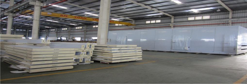 Industry Cold Storage Installation